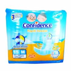 Harga Confidence Popok Dewasa *d*lt Diaper M 15 Confidence