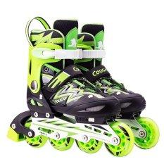 Cougar Inline Skate Sepatu Roda Mzs68fb Bkrd Size 34 37 Daftar Source · Cougar  Inline Skate Sepatu Roda C1 Blu Size 35 38 Cek Harga Terkini Source Cougar 32eb3145b4