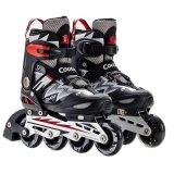Cougar Mzs835L Sepatu Roda Inline Skate Black Silver Terbaru