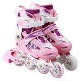 Cougar Mzs851 Sepatu Roda Inline Skate Purple Pink Terbaru