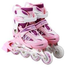 Harga Cougar Mzs851 Sepatu Roda Inline Skate Purple Pink Cougar Terbaik