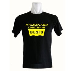 Creative Media Kaos Distro Bugis Mamminasa Deceng - Hitam