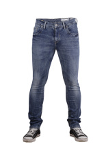 Cressida Slim Denim In Medium Wash - Biru