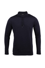 Cressida Sweatshirt Long Tee - Navy