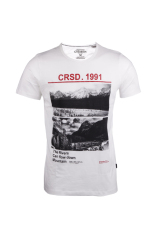 Cressida Next Level The River Tshirt Pria J230 - Putih