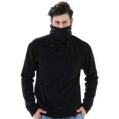 Diskon Besarcrows Denim Sweater Korea Vr Hitam