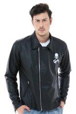 Review Crows Denim T F O A Biker Leather Jacket Srw Di Di Yogyakarta