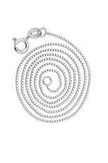 CTO Jual Hot Fashion 925 Perak Perhiasan Korea Womens Fashion Bagian Kotak Rantai Kalung Klavikula Rantai Charm Jewelry Silver