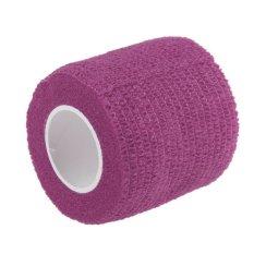 CTO Kinesiologi Elastis Tape Roll Olahraga Fisio Otot Cedera Regangan Dukungan Terapi (Ungu)