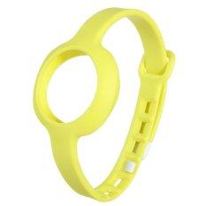 CTO Tali Pergelangan Tangan Band Jawbone UP Bergerak Gelang Kebugaran (Kuning)