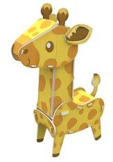 Cubic Fun Puzzle 3D Wild Life Series - Giraffe