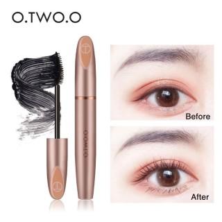 O.TWO.O 3D Silk Fiber Eyelash Black Mascara Waterproof Long Lasting thumbnail