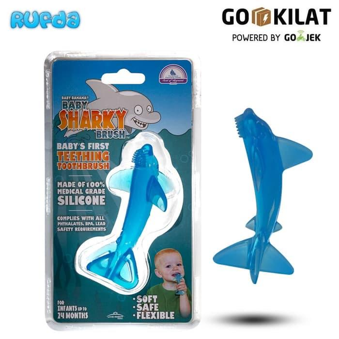 Sharky Baby Banana Teething Tooth Brush