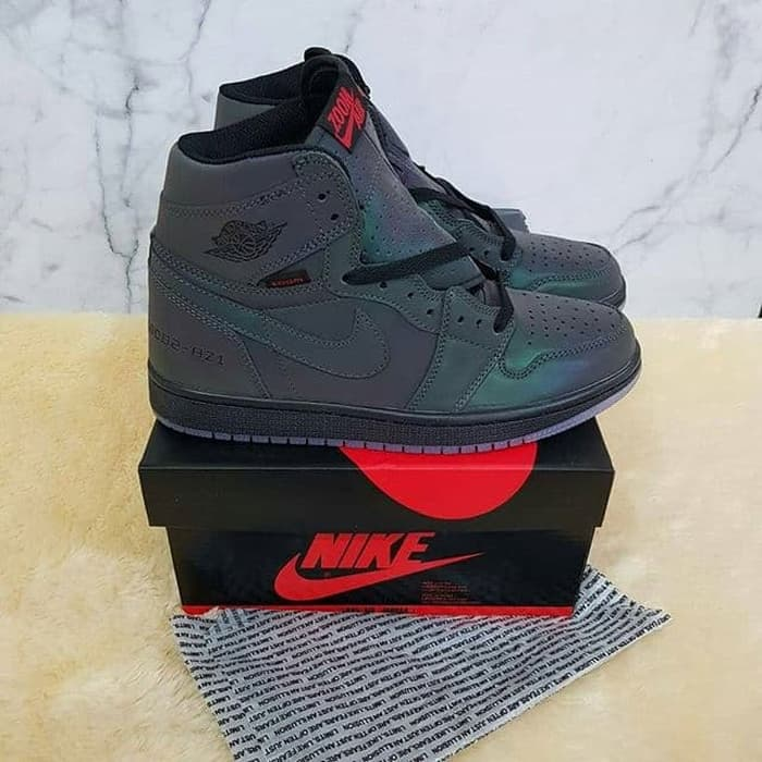 Nike Air Jordan 1 Zoom Fearless Premium - sedia basketball keranjang basket ring anak set jersey laundry shoes rotan stainless steel logam karet kanvas mainan 2020 nilon warna harga promo khusus