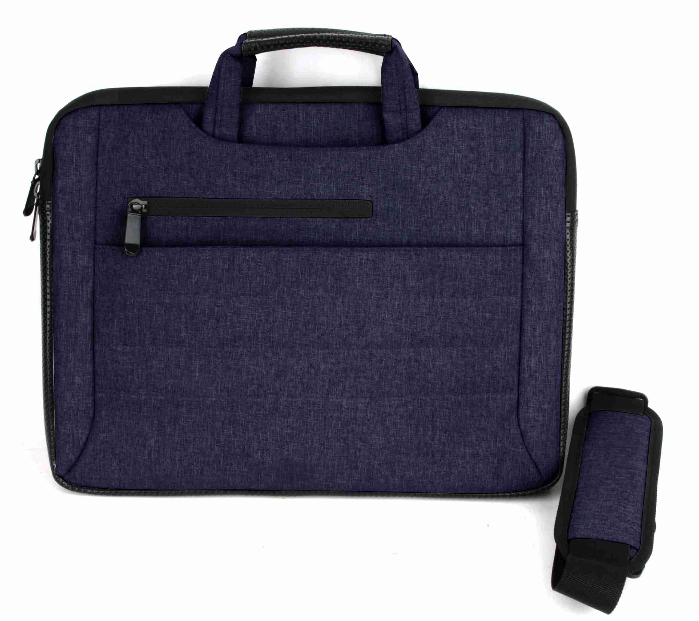 "Techwaves Universal 13-14"" Laptop Bag Sleeve 2 in 1 Business Carrier, Laptop"