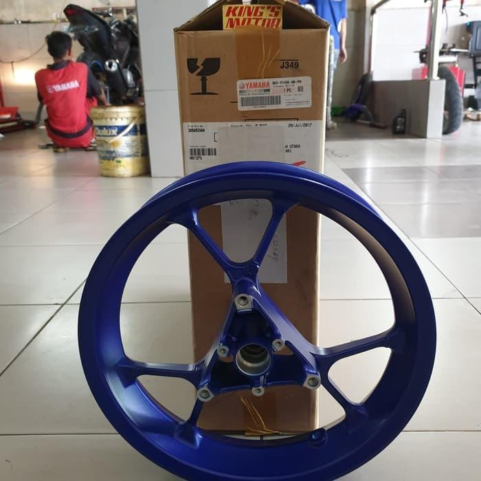 Velg, Racing, Depan Aerox 155, Lexi Biru Asli Yamaha