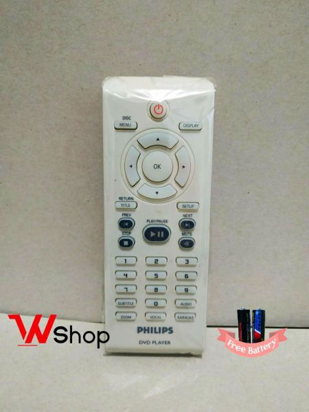 REMOT DVD PLAYER PHILIPS ORIGINAL