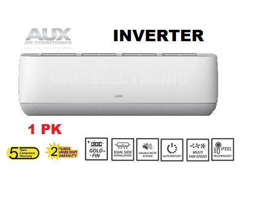 AUX ASW-09A4-JAR1 -AC INVERTER 1 PK J SMART SERIES FREON R410A