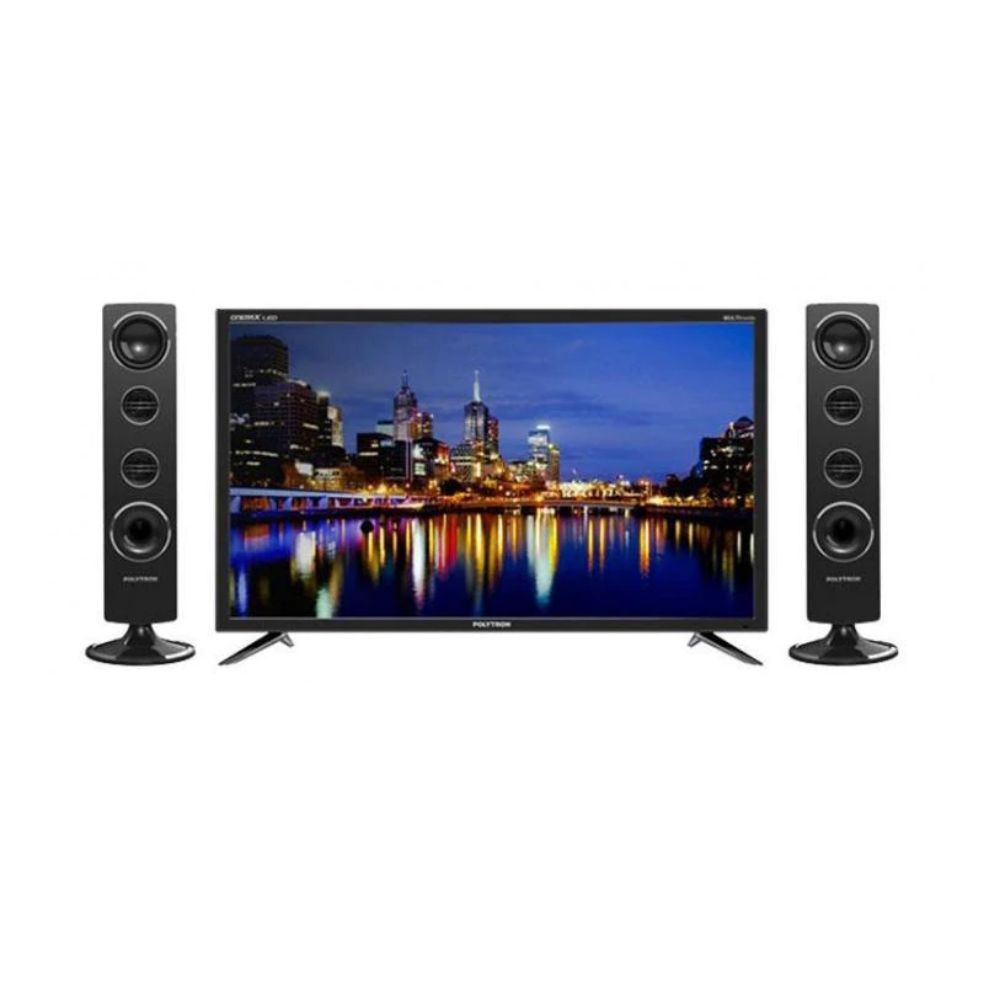 POLYTRON PLD 32T1550 LED TV with Tower Speaker [32 Inch]