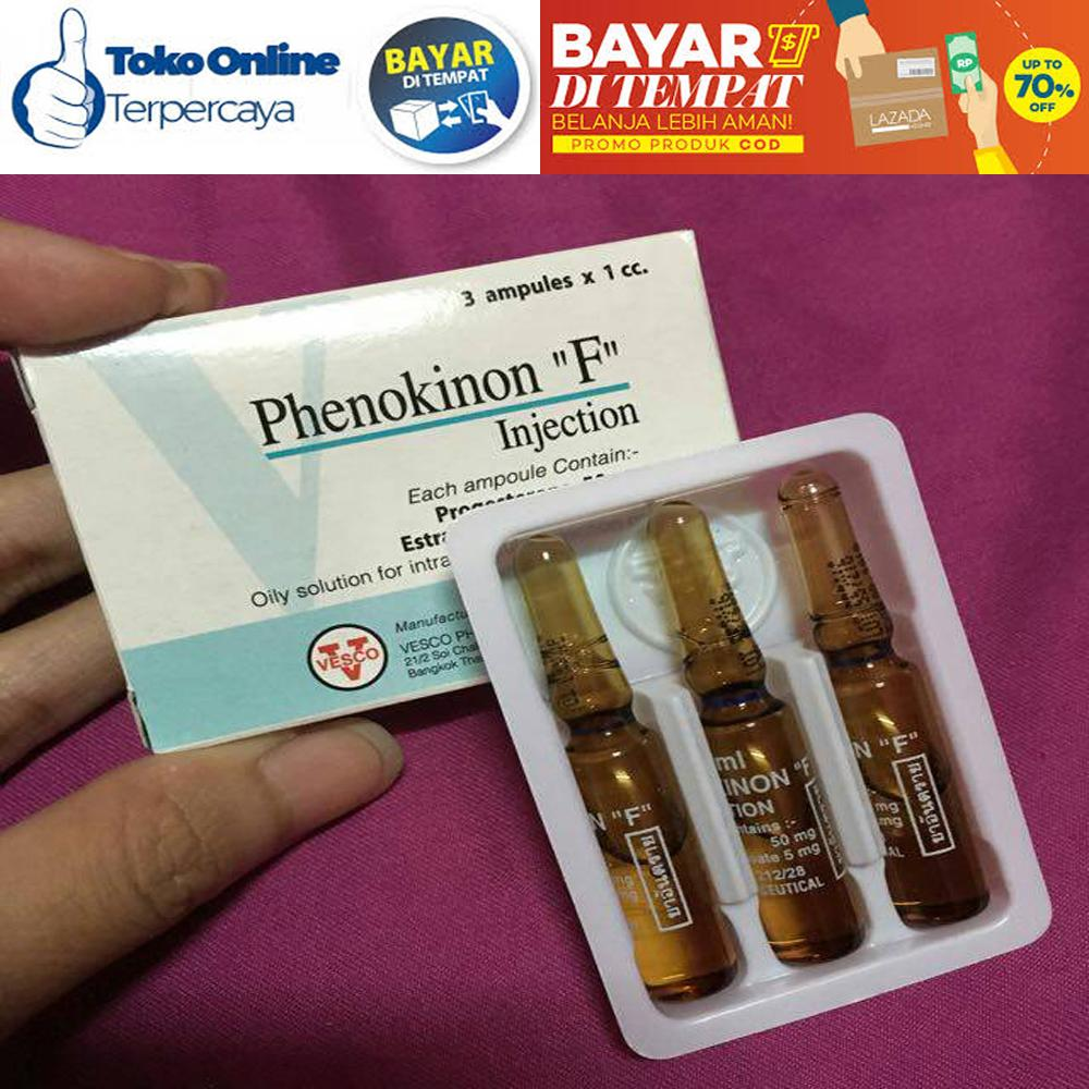 Phenokinon / Phenokinon F Injection Original Vesco Hor Mon Wanita / Waria / Bayar Di Tempat Cod Lina.id Shop By Lina.id Shop.