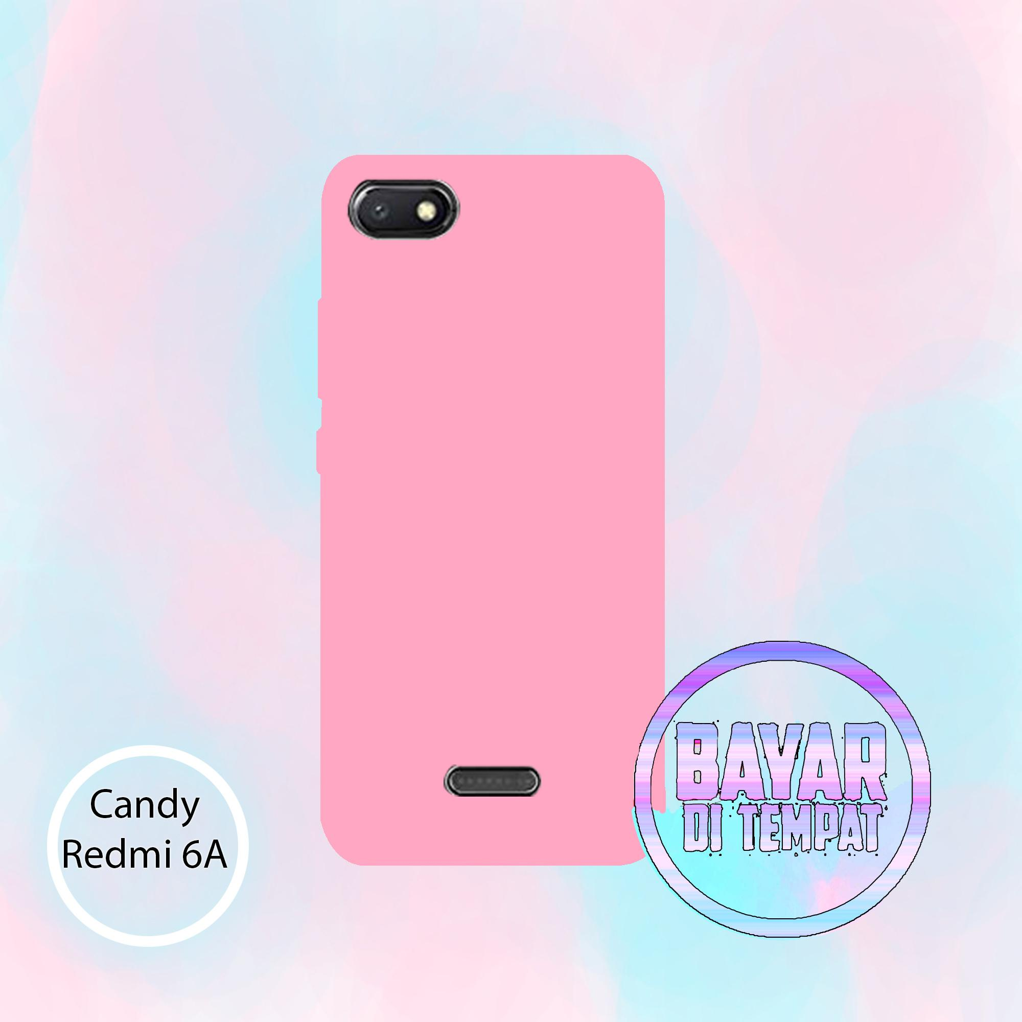 Softcase Candy All Color For Redmi 6A