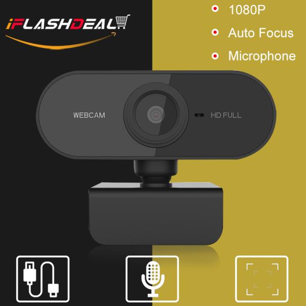 【Big Promotion】iFlashDeal Webcam High-end Video Call USB Computer Camera Auto Focus Webcam Built-in Noise Reduction Microphone Cameras HD Live Camera For Laptop Desktop