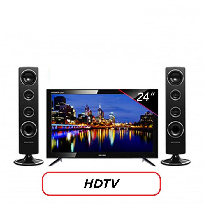 LED TV Polytron PLD-24T1850 24 Inch plus Speaker