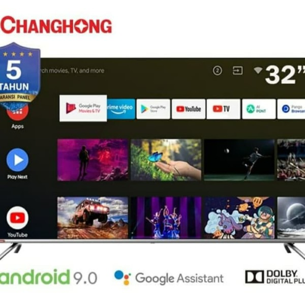Changhong LED Smart TV L32H7 32 Inch/ Google Certified/Android
