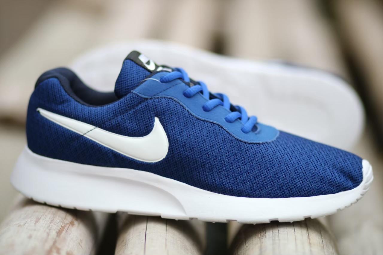 Sepatu Sneakers Pria Terbaru Nike_Tanjun Ros Run Import Termurah Blue Navy