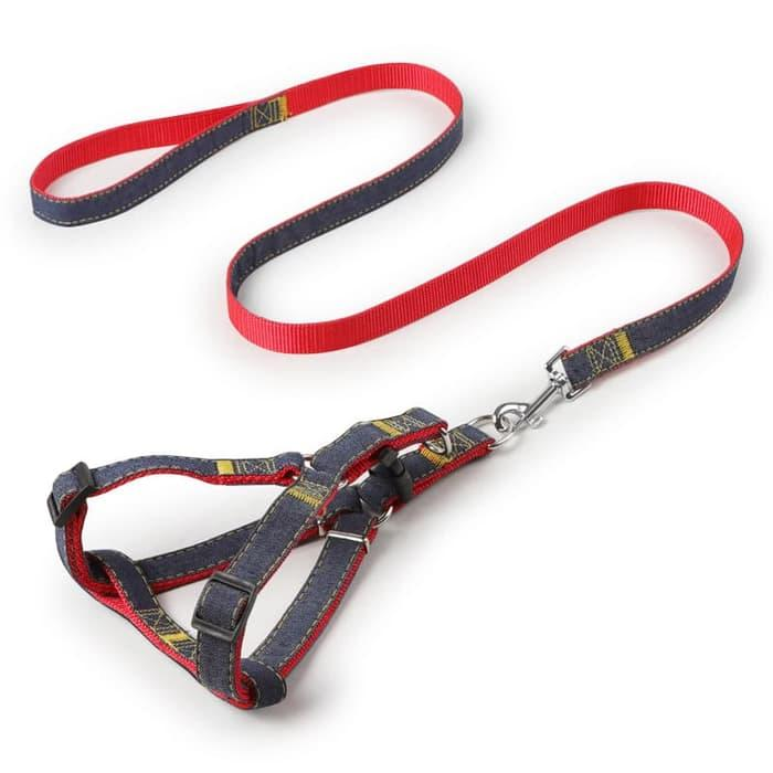 Candy Dog Harness - Tali Tuntun Harnes. Rantai Anjing Kucing Pet Belts By Candy Shop ( Cs ).