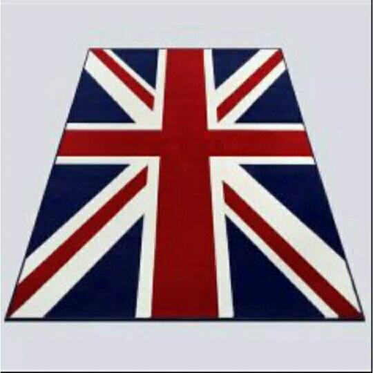 Selimut Motif Bendera England (inggris) 3D Kualitas Import ukr 150x200 bahan halus