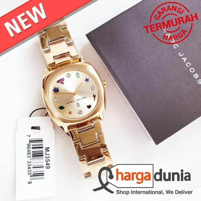 PROMOSI !! Jam Tangan Wanita Merk Marc Jacobs Original Type : MJ3549