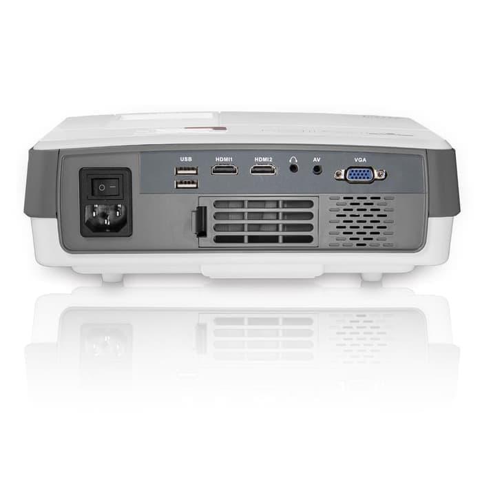 NewG Mini LED Proyektor / Projector TJ600D PLus 2600 Lumens HDMI 1080p