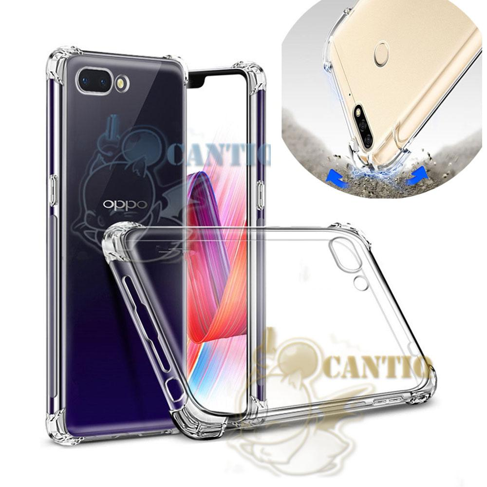 QCF Soft Case Anti Shock Anti Crack Realme C1 Silikon Casing Realme C1 / jelly Anti Crack Case Realme C1 / Case Anti Shock Realme C1 Casing Anti Crack Realme C1 / Case HP / Silikon Realme C1 Anti Banting Softcase for Realme C1 - Bening