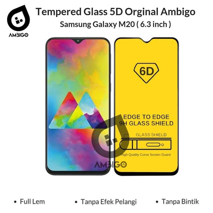 Accessories Hp Ambigo Tempered Glass 5D Full Cover Warna / Anti Gores Kaca Full Lem For