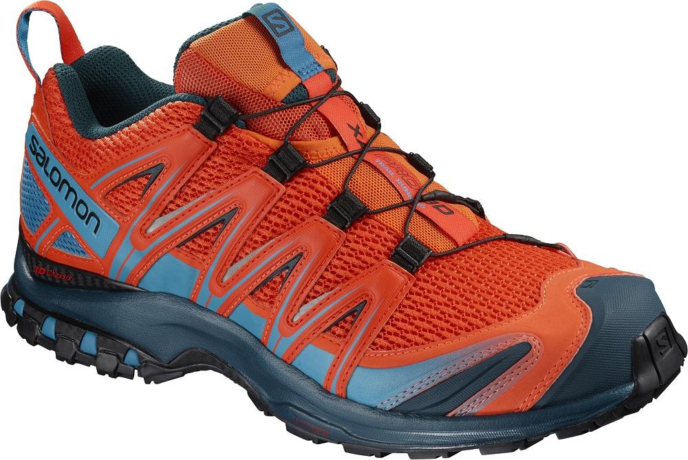 Salomon Sepatu Running Mens XA PRO 3D CHERRY TOMATO 10d03db407