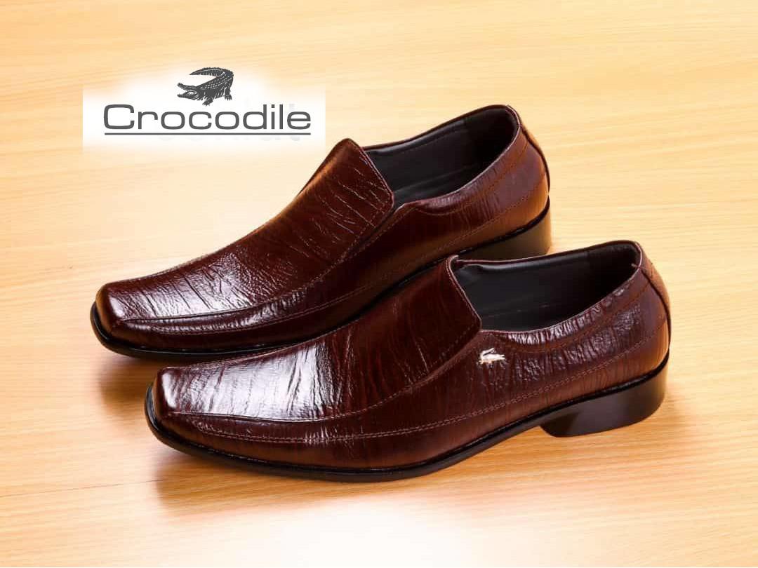 sepatu pantofel/sepatu kulit/sepatu kerja/sepatu original CROCODILE/sepatu resmi/sepatu kulit/sepatu pria/sepatu kulit serat kayu/murah/pria/dinas