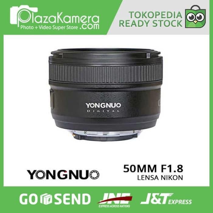 [ Best Buy ] YONGNUO LENSA NIKON 50MM F1.8