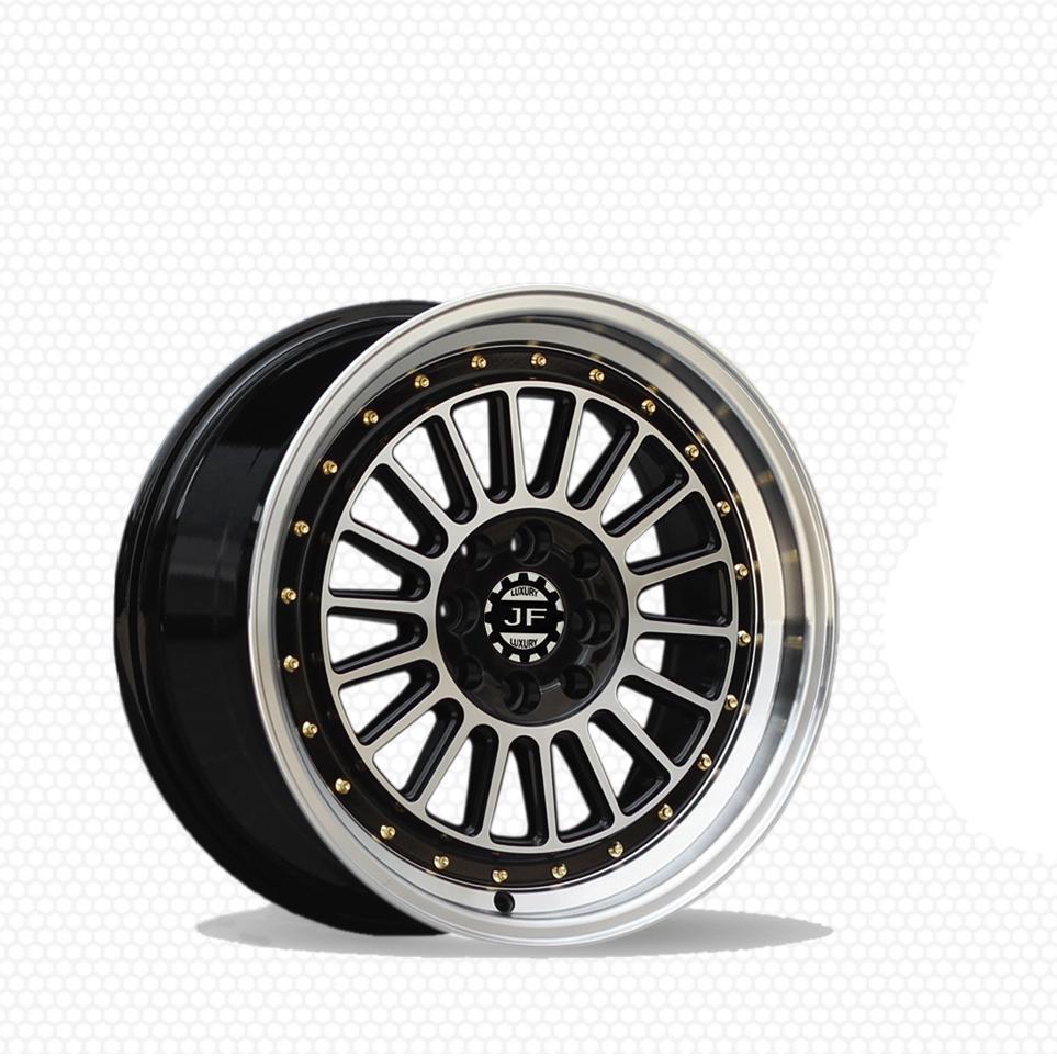 Paket JF Luxury BUC Ring 16X7.5/8.5 PCD 8X100/114.3 Velg + Ban Acc PHI R Mobil [GRATIS INSTALASI]