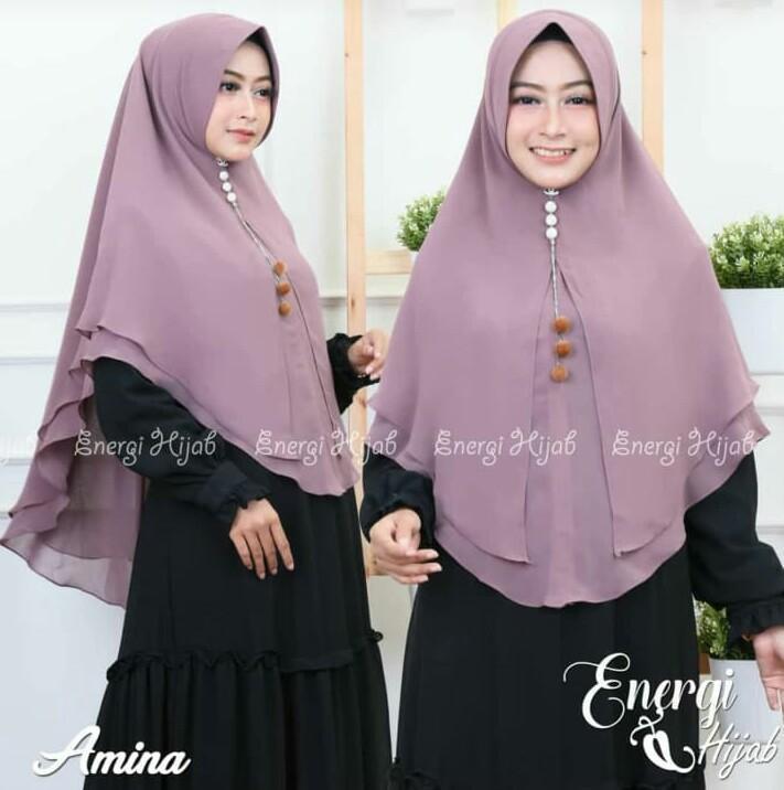 _Kerudung / Hijab/Jilbab Instan KANAYA Model Bergo terbaru termurah dan Terlaris /Hijab Muslim / Kerudung Wanita / Alghaffar_6sc