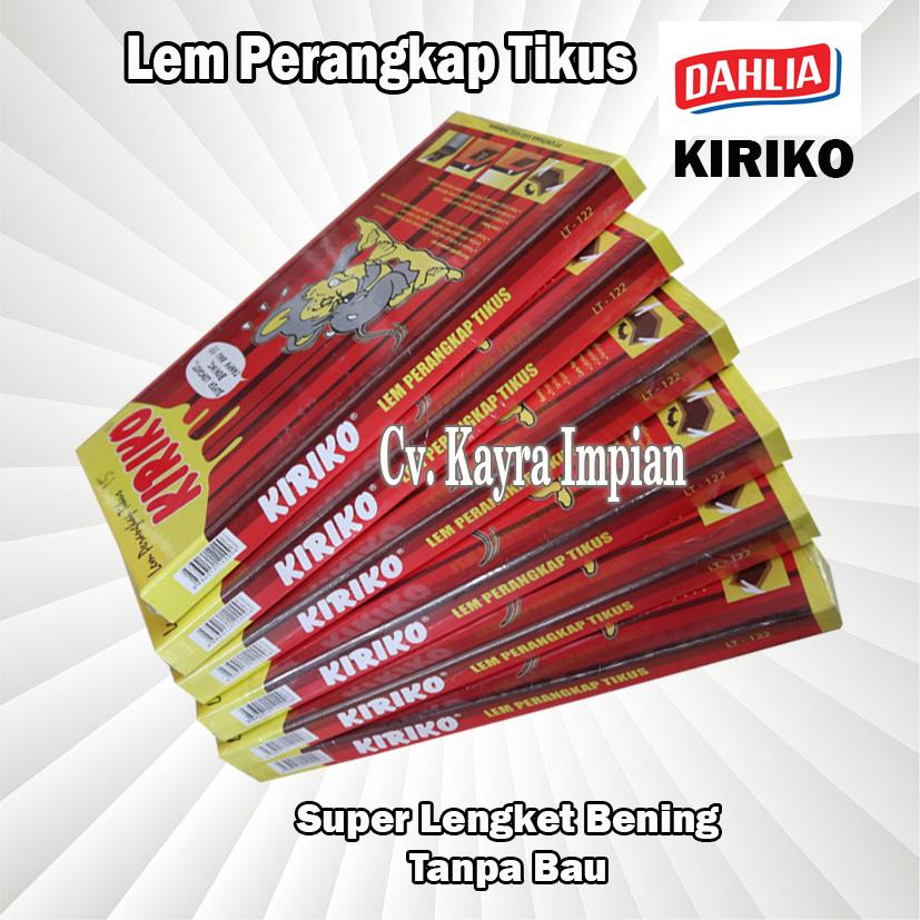 Lem Perangkap Tikus Kiriko Lem Tikus Murah Kualitas Super Kuat Bagus Lazada Indonesia