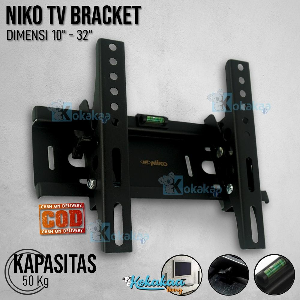 Niko Bracket TV Universal LED / LCD / Plasma NK TB1032 10 - 32 Adjustable Flexible
