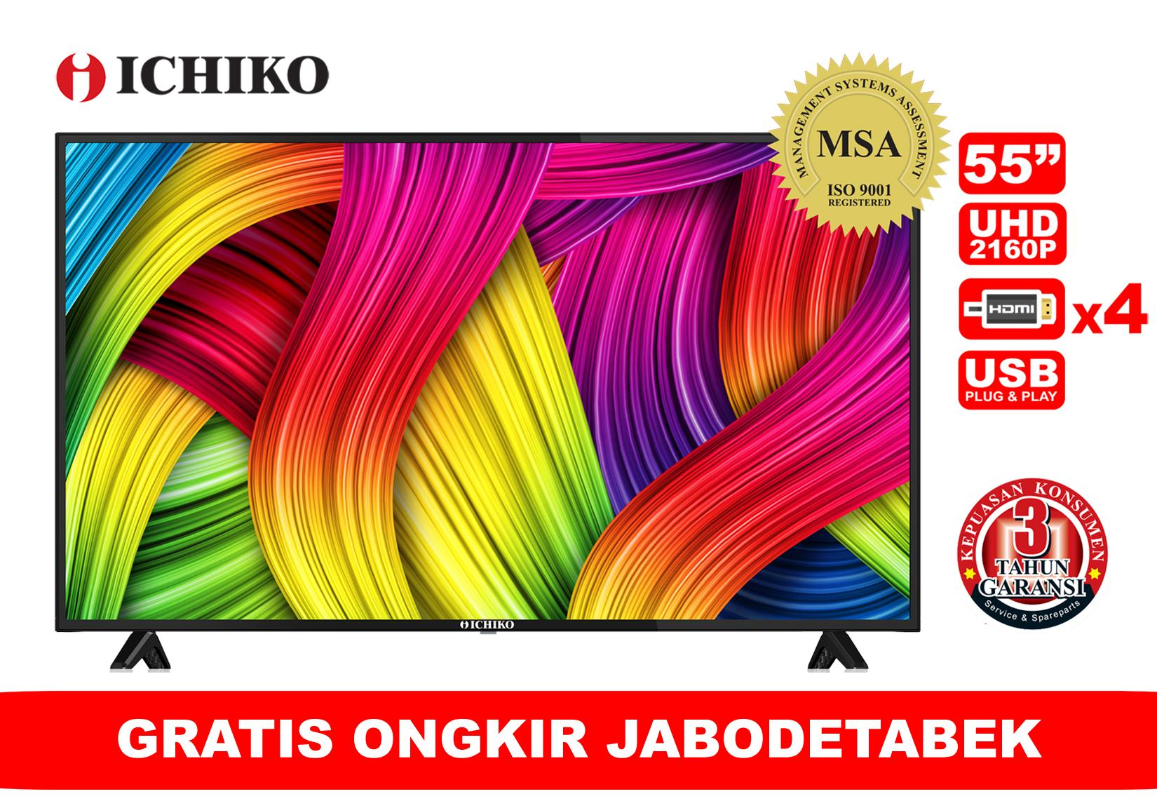 ICHIKO TV LED 55 Inch Ultra HD 4K Tipe S5528