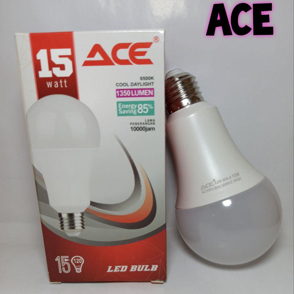 Lampu Led ACE 15watt /Lampu kualitas philips/Hannochs GARANSI