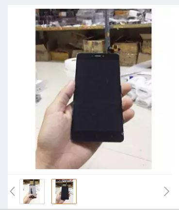 LCD TOUCHSCREEN XIAOMI REDMI NOTE 4X hitam