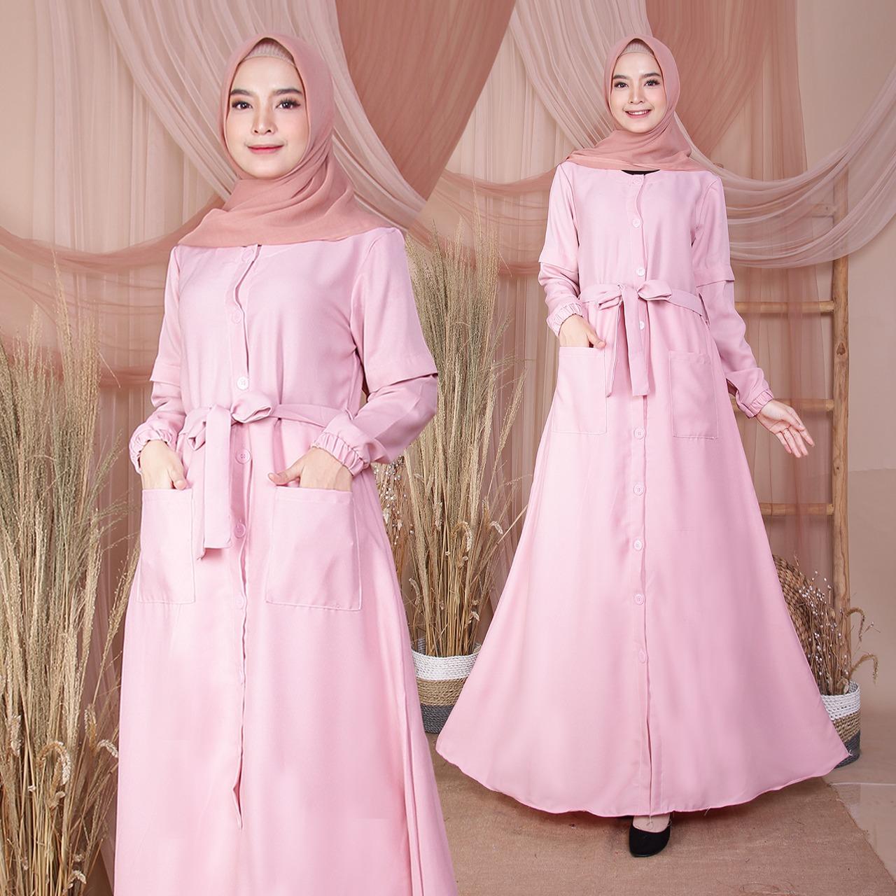 Bisa Cod Promo Gamis Aisyah Baju Muslim Original Kancing Hidup Moscrepe Fashion Motif Model Terbaru 2020 Gamis Panjang Wanita Trendy Busui Friendly Dress Remaja Kekinian Grosir Termurah Hijab Muslimah Syar Amp 39 I Syari