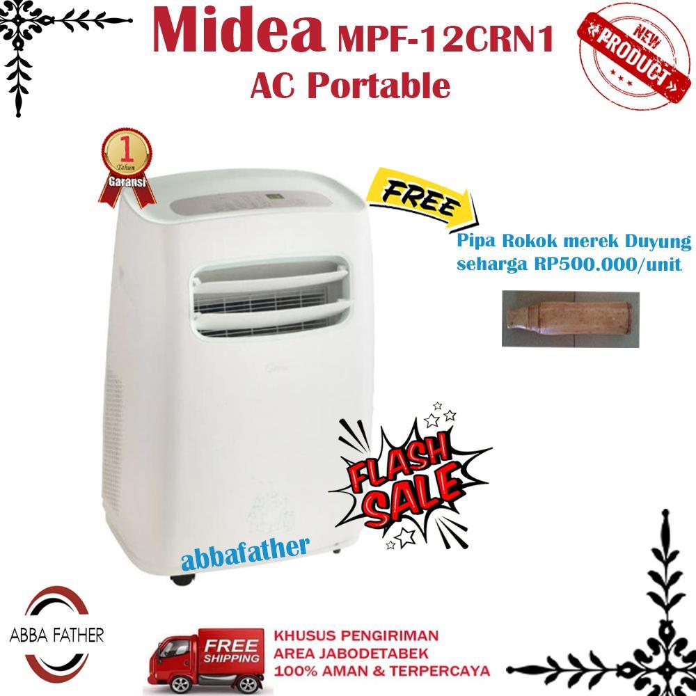 Midea MPF-12CRN1 AC Portable -Putih 1.5 PK-KHUSUS JABODETABEK
