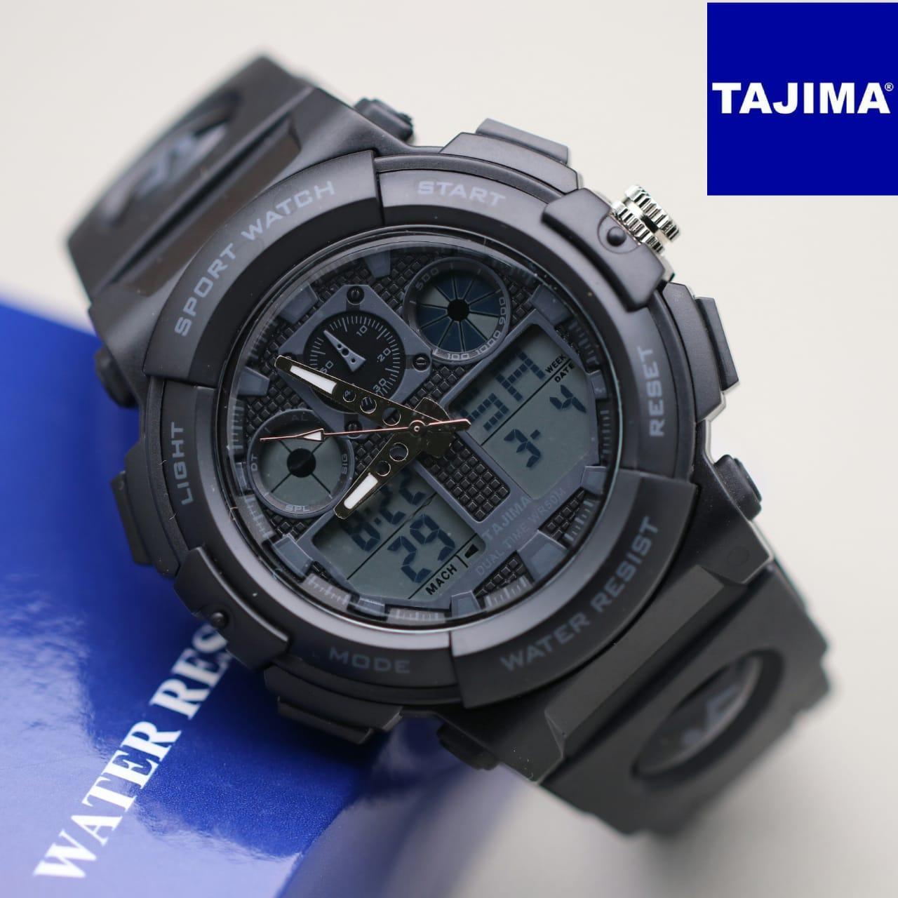 Jam Tangan Pria Analog Tajima Water Resistant / Watch Analog Tajima 26