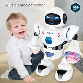 Robot nhảy thông minh ZLOYI Mini có nhạc cho trẻ em màn hình đèn Led - INTL thumbnail