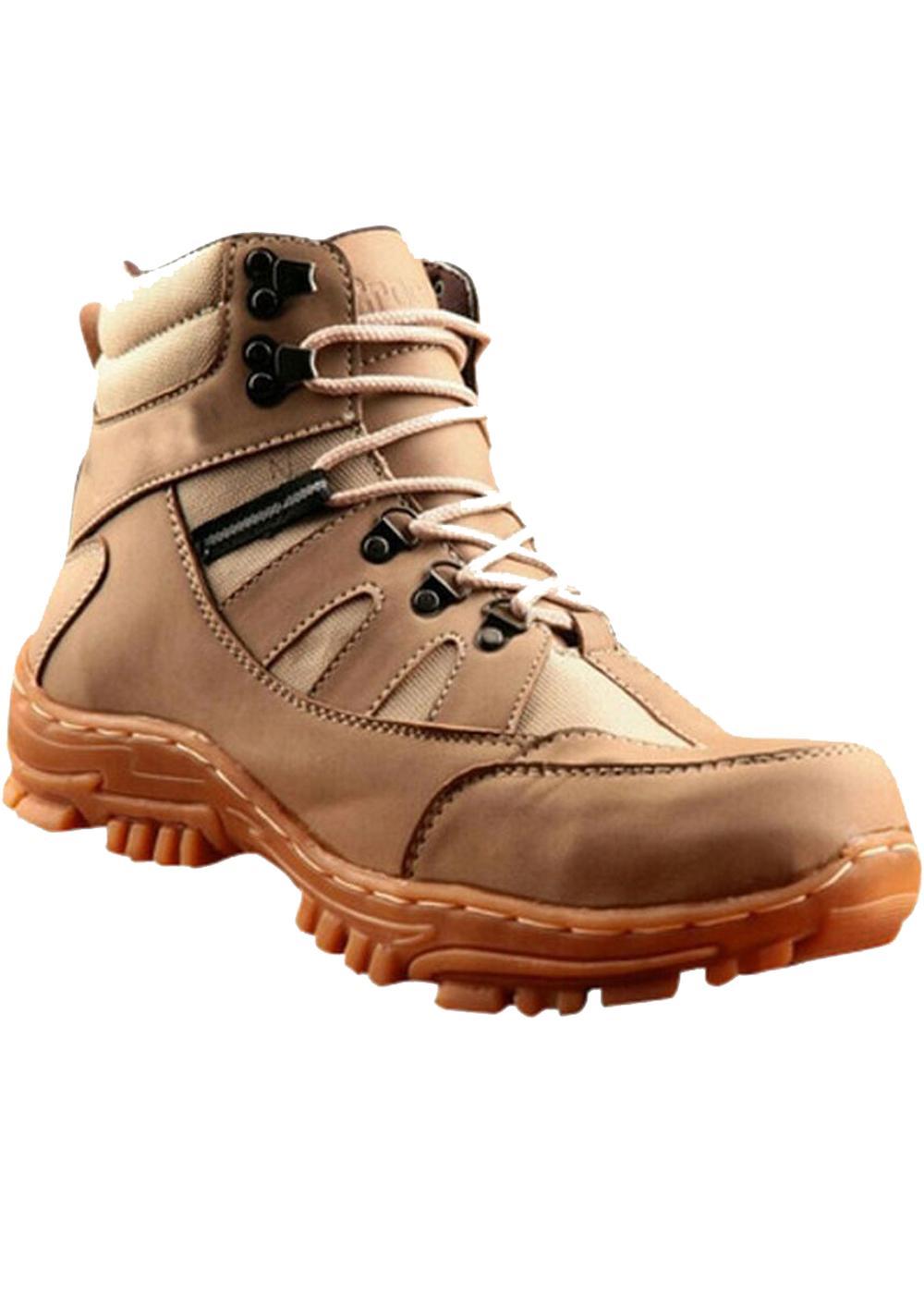 Sepatu Boot Pria crocodile Armour safety ujung nya besi  BISA BAYAR DI  TEMPAT PROYEK 1c4bfffe74